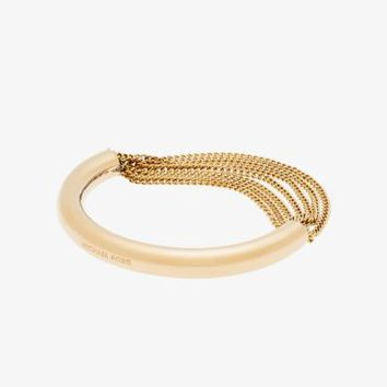 Gold-Tone Draped-Chain Bracelet | Michael Kors