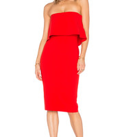 LIKELY Driggs Dress in Scarlet | REVOLVE