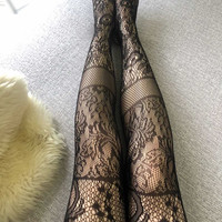 CC - Fashion Black Tights