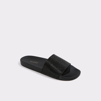 Montagne Midnight Black Women's Flats | ALDO US