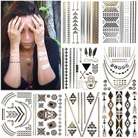 Temporary Flash Tattoo Summer Trend Body Jewelry Accessories