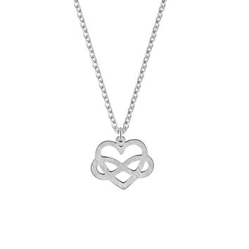 GORGEOUS TALE 2018 New Fashion Necklace Delicate Heart Infinit Pendant Necklace for Women Love Music Note Symbol Charm Chokers