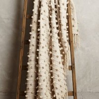 Palomita Blanket by Anthropologie Ivory One Size House & Home