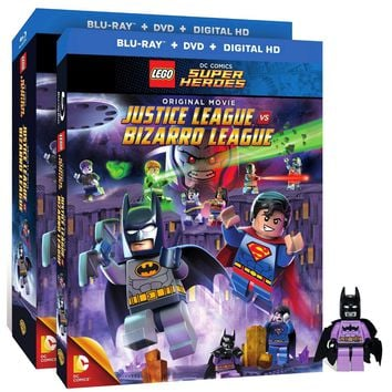LEGO DC Comics Super Heroes: Justice League vs. Bizarro League (Blu-ray/DVD) (Figure)