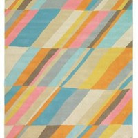 Brink & Campman Contemporary Handmade Moderno Diagonal 73307 Multi Rug | Contemporary Rugs