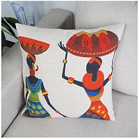 African Cushion Cover