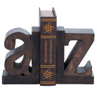 Wooden Book End by Cole & Grey