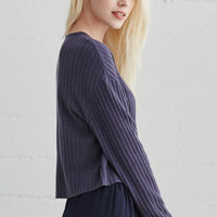 Me To We Cosby Cropped Long Sleeve Top at PacSun.com