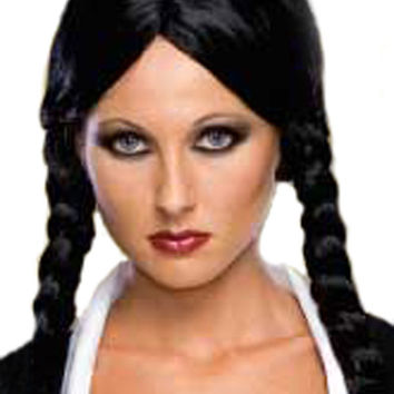 Adult Deluxe Wednesday Addams Wig - Costume Wigs
