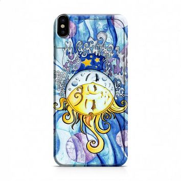 moon and sun iPhone X case