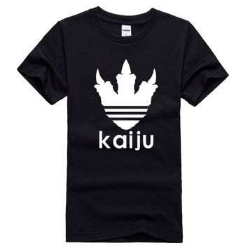 Kaiju Monster Paw Print Men T Shirt Casual Funny Tshirts For Man Top Tee Hipster Drop Ship