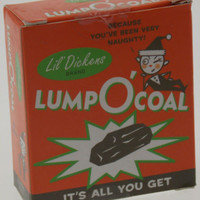 Lot of 2 Lump O'Coal Lil Dickens Mini Kit Gag Gift Naughty Running Press NEW