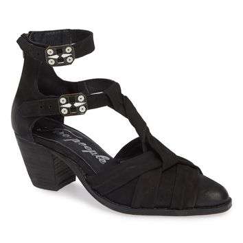 Canosa Cutout Ankle Booties
