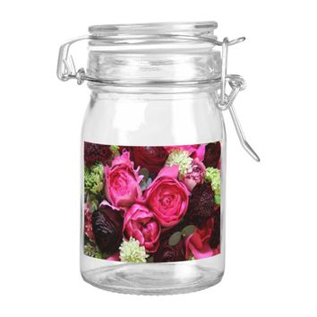 Assorted Pink Tea Roses Food Label