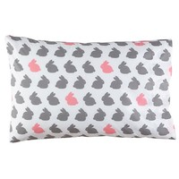 New School Bunny Pillowcase