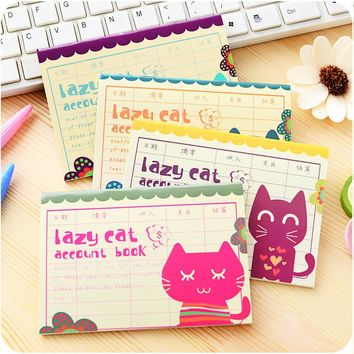 Printed Sketchbook Cute For Cat Planner Pocket Small Personal Note School Notebooks And Journals Paper Books Office Supplies