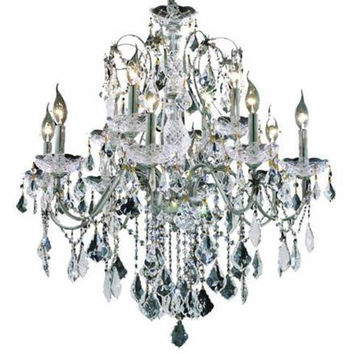 Christiane - Hanging Fixture (12 Light Traditional Hanging Crystal Chandelier) - 1713D28