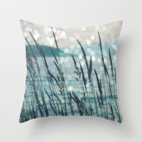 Afternoon at the Lake Throw Pillow by LJehle Photography