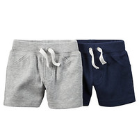 Baby Boy Carter's 2-pk. Solid Shorts