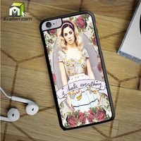 Marina And The Diamond Hate Everything iPhone 6S Plus Case by Avallen