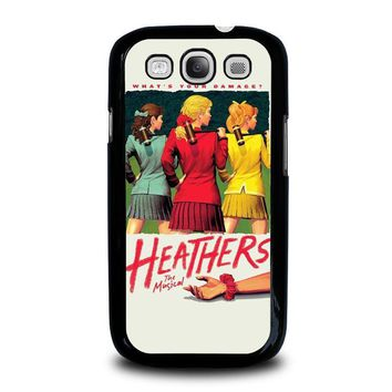 heathers broadway musical samsung galaxy s3 case cover  number 2