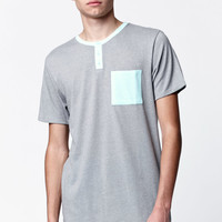 On The Byas Coffee Pocket Henley T-Shirt at PacSun.com