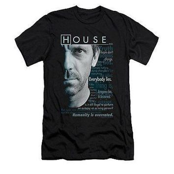 House Houseisms Short Sleeve Mens T-Shirt Large