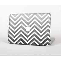 The White & Gradient Sharp Chevron Skin Set for the Apple MacBook Air 11""