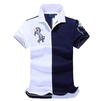 New Top good Quality embroidery men Men brand-clothing polo Shirts Brand Fashion men polo shirt clothing camisa polo