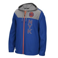 adidas New York Knicks Fan Gear Full-Zip Hoodie