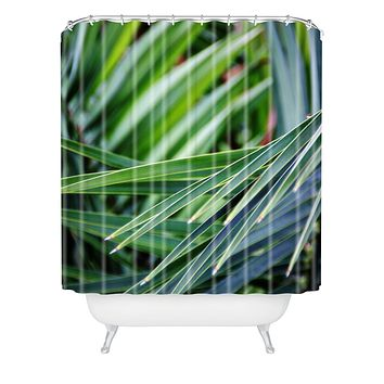 Shannon Clark Jungle Shower Curtain