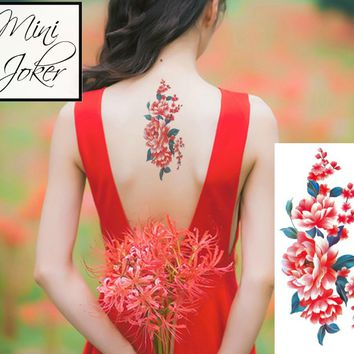 Mini Joker | Awesome Tattoos Flora Back Tattoos