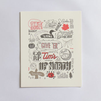 Canadian Colloquialisms Print