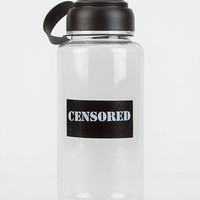 Ankit Censored Water Bottle Black/White One Size For Women 26282712501