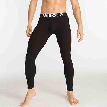 Ropa Interior Hombre Calzoncillos Marcas New Men Long Johns Leggings Winter Warm Pants Thick Thermal Underwear Tights (j374)