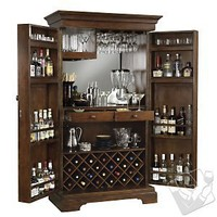 Howard Miller Sonoma Armoire Wine Cabinet - Wine Enthusiast
