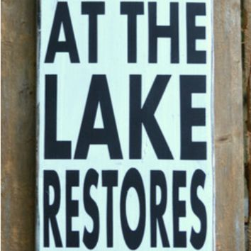 Lake House Wall Art lake decor lake signs lake house wall art from soflco