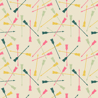 Flying Arrows Removable Wallpaper Decals