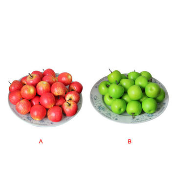 ANGRLY 30pcs/bag Decorative Small Artificial Fruit Apple Photographic Props Party Home Kitchen Docoration Products wedding