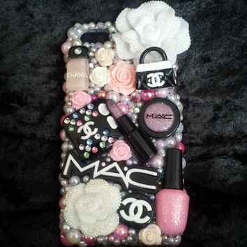 Make Up Shopping Diva Retail Therapy Chanel Samsung Mac iPhone Case Note 2 3 4 4s 5 5s 5c