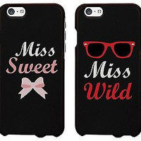 Iphone 6 Case Cover - Miss Sweet Miss Wild Best Friend Matching BFF Phone Cases