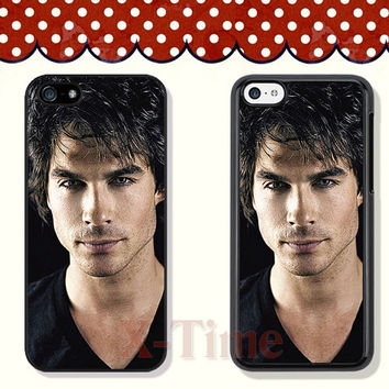 vampire Paul Wesley, iPhone 5 case iPhone 5c case iPhone 5s case iPhone 4 case iPhone 4s case, Samsung Galaxy S3 \S4 Case --X51126