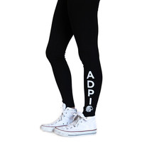 Alpha Delta Pi Kick It Leggings