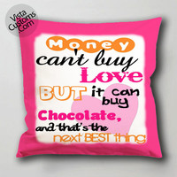 beatles love quotes from songs pillow case, cushion cover ( 1 or 2 Side Print With Size 16, 18, 20, 26, 30, 36 inch )