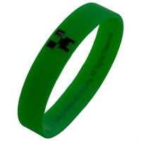Minecraft - Creeper Bracelet