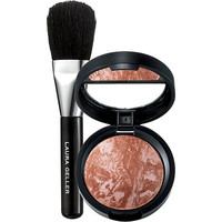 FREE travel size Baked Blush-N-Brighten in Honeysuckle with Brush w/any $35 Laura Geller purchase