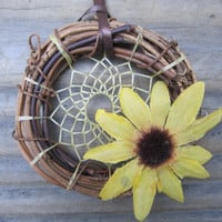 Sunflower Dream Catcher-Car