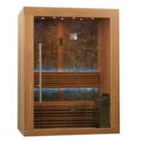 Steam Sauna 2-3 Person Vasteras Luxury Edition