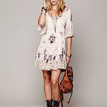 Free People  Dream Cloud Print Dress at Free People Clothing Boutique