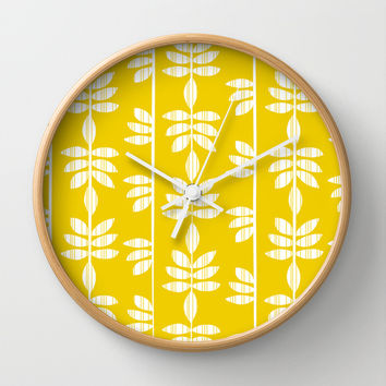 Abadi - Sunburst Wall Clock by Heather Dutton